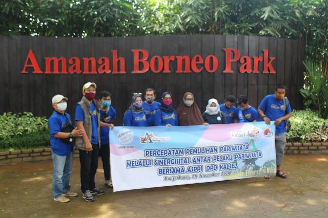 Kolaborasi Pulihkan Pariwisata, ASPPI Kalsel Gandeng Amanah Borneo Park