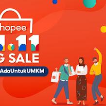 Festival Belanja Paling Dinantikan UMKM, Shopee Hadirkan 11.11 Big Sale