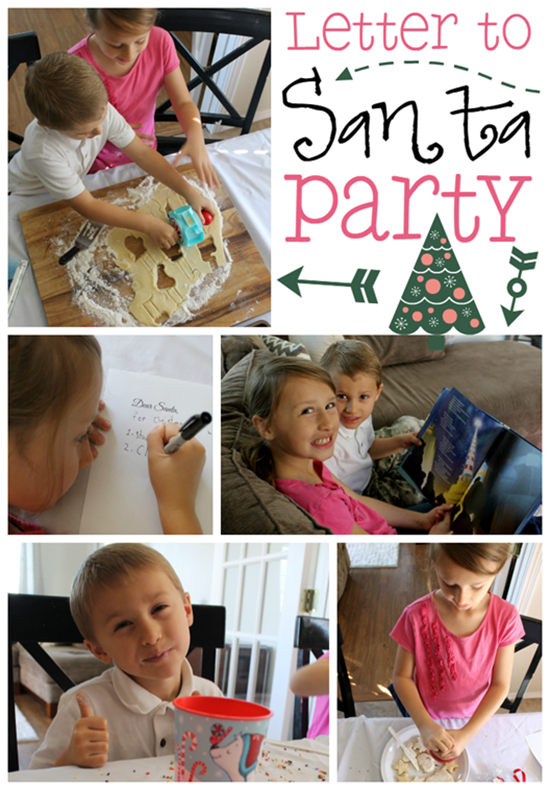 Letter to Santa Party at GingerSnapCrafts.com #NorthpoleFun #CollectiveBias #ad _thumb[1]