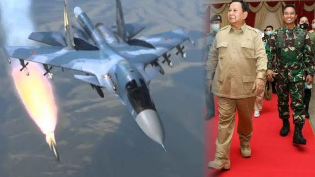 Prabowo Tetap Beli Jet Tempur Sukhoi Su-35 Walau Dibayangi Ancaman Amerika