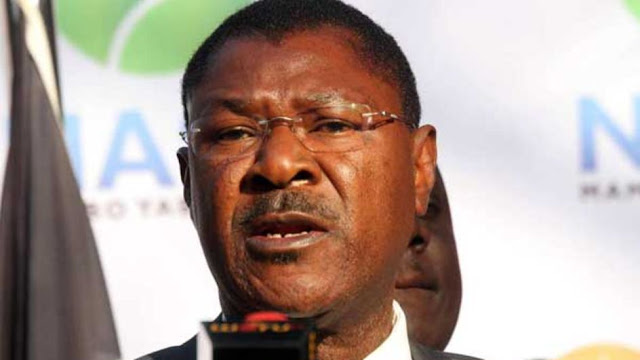 Temporary ousted, Moses Wetangula hets back his seat
