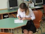 Wybory do SU Gimnazjum 16.09.2015