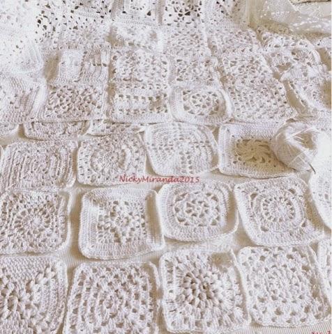 2012 work in progress bucaneve coperta di cotone a - Schemi per piastrelle all uncinetto ...