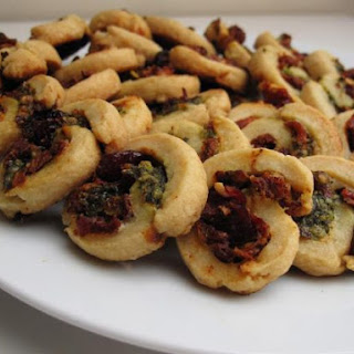 Cranberry Pesto Pastry Swirls