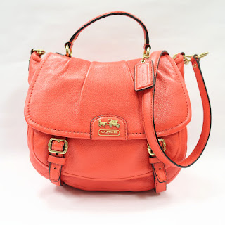 Coach Coral Leather Crossbody Bag