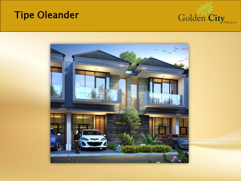 Rumah Oleander Golden City Bekasi