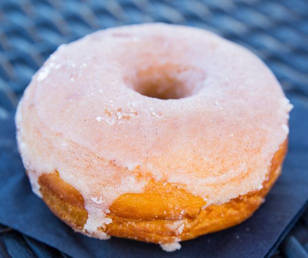 photo of a Vanilla Donut
