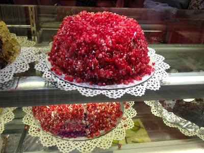 Laman's Delight, pomegranate cake