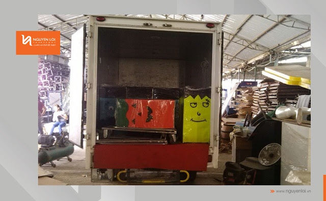 xe tải 1 tân chở hàng
