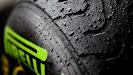 Pirelli's intermediate rain tyre