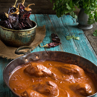 Chocolate Hazelnut Chicken Mole.