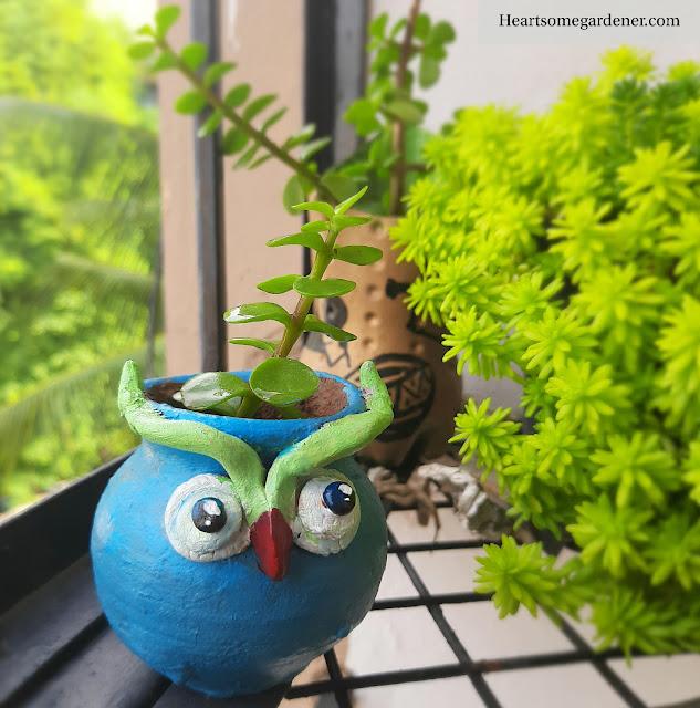 DIY Planter, Pot painting