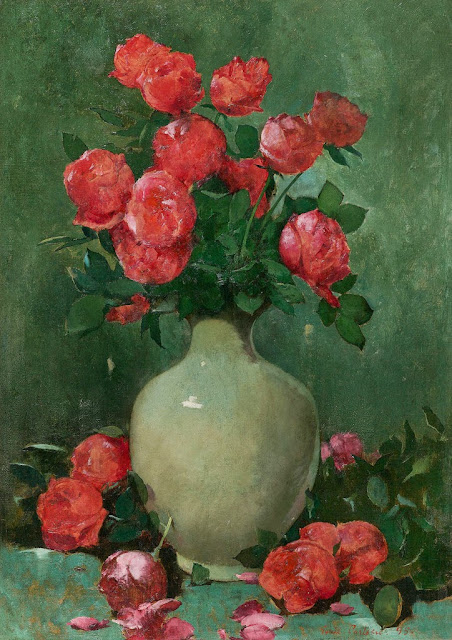Emil Carlsen - Red Roses