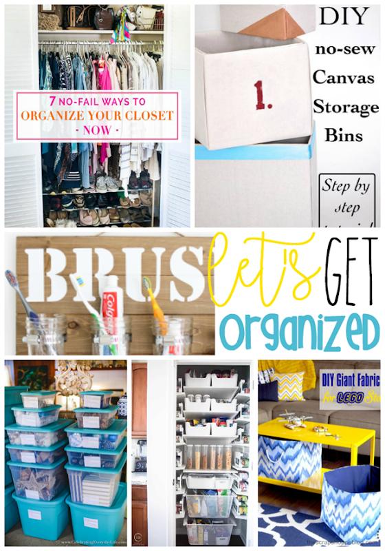 Let's Get Organized! #organization #organize