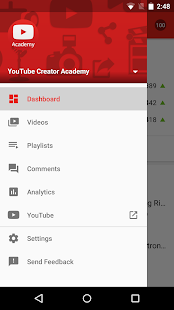 YouTube Creator Studio- screenshot thumbnail