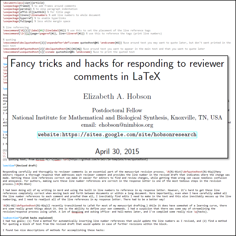 Latex revision hacks hobson research spiritdancerdesigns Image collections