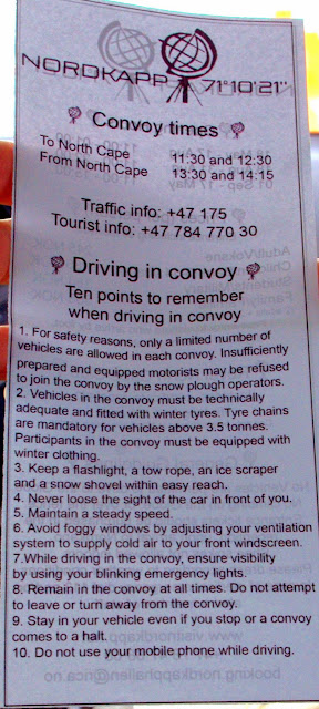 Información sobre Cabo Norte
