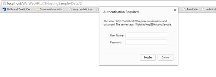 A developer's blog: Basic Authentication in WCF REST on IIS