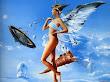 Dance Of Beautiful Angel