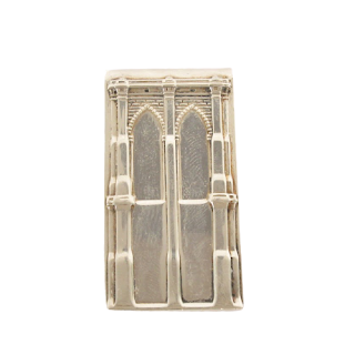 Tiffany & Co. Sterling Silver Architectural Money Clip