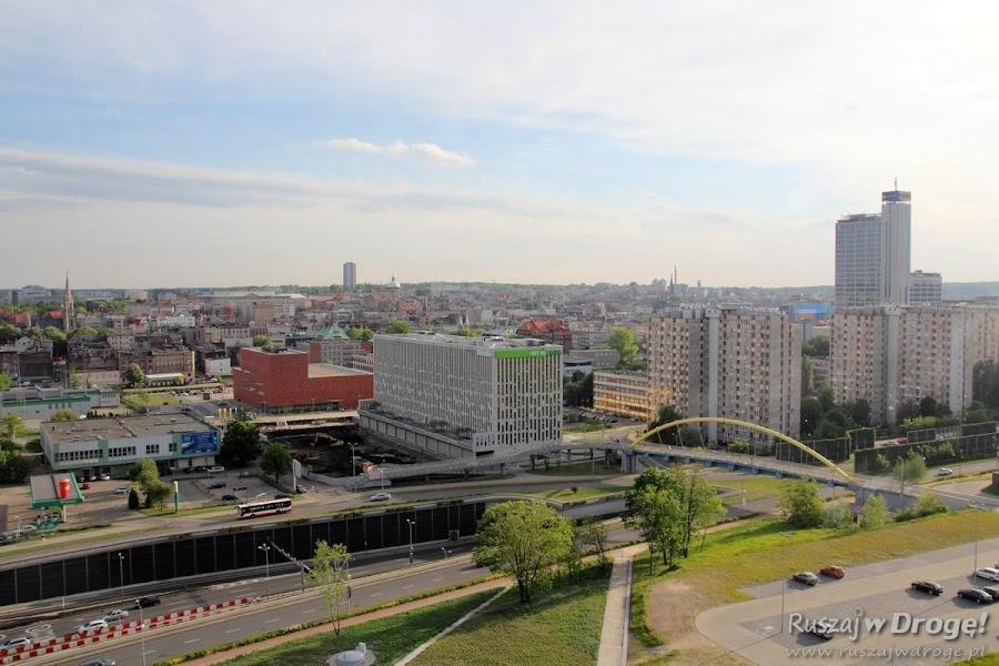 Muzeum Śląskie Wieża Widokowa - widok z góry