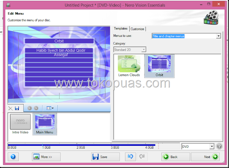 cara menyimpan data video kedalam dvd player agar bisa di play di video player