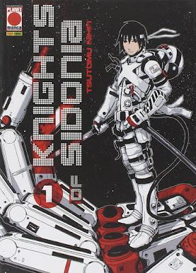 Knights of Sidonia de Tsutomu Nihei, publicado por Panini Comics.