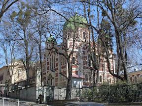 Львов. Улица Короленко. Церковь святого великомученика Георгия Победоносца