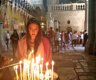 Экскурсия Иерусалим православный: Масличная гора, Виа Долороза, Храм Гроба Господня. Гид в Иерусалиме Светлана Фиалкова