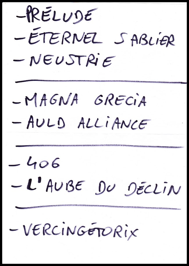 Set-list Neptrecus @ Le Klub, Paris 21/04/2013