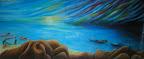 n. 18 Sant&#039;antioco - (olio su tela) cm 80x190<br /> -galleria privata-
