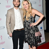 OIC - ENTSIMAGES.COM - Tom Parker and Kelsey Hardwick at the London Cabaret Club - launch party in London 4th May 2016 Photo Mobis Photos/OIC 0203 174 1069