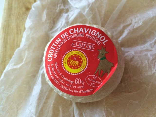 how to eat crottin de chavignol