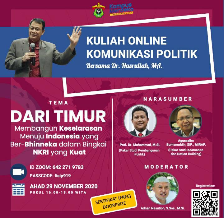 Kampus Merdeka, Dari Timur Membangun Keselarasan Menuju Indonesia yang Berbhinneka