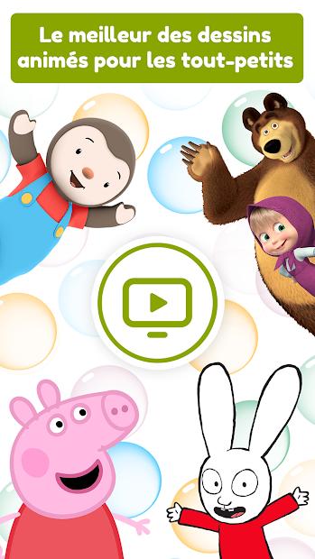 Zouzous - Dessins animés pour les tout-petits Android App Screenshot
