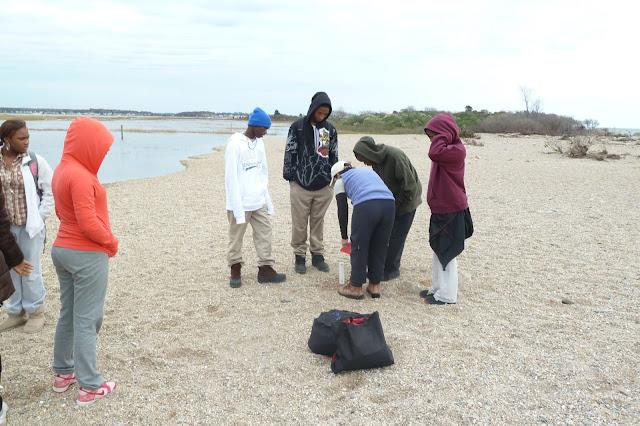 King/Robinson Students Visit Hammonasset - P1020400.JPG