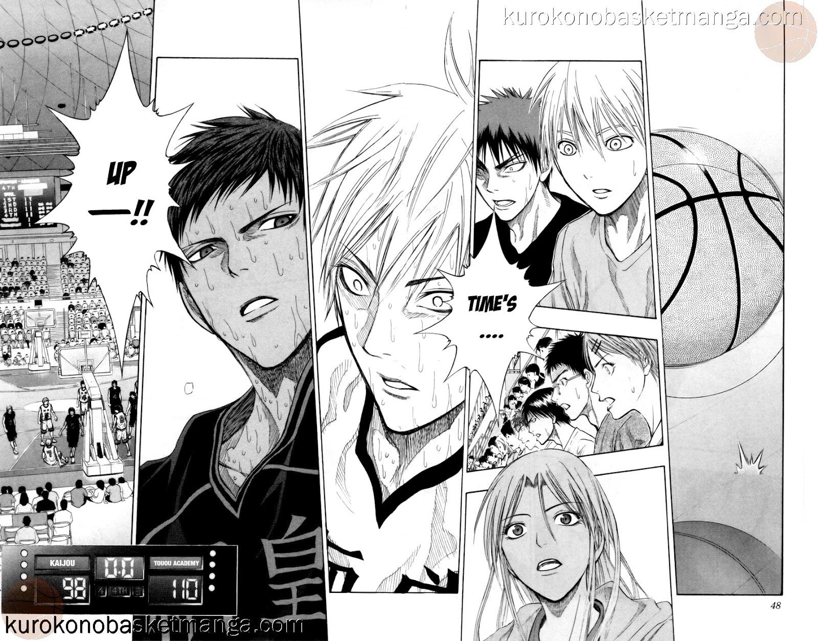 Kuroko no Basket Manga Chapter 73 - Image 02-03