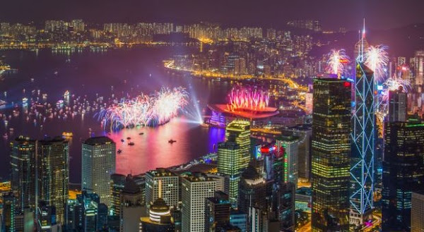 Hong Kong Celebrates New Year 2016