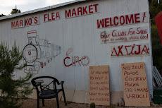 Marko's flea market.