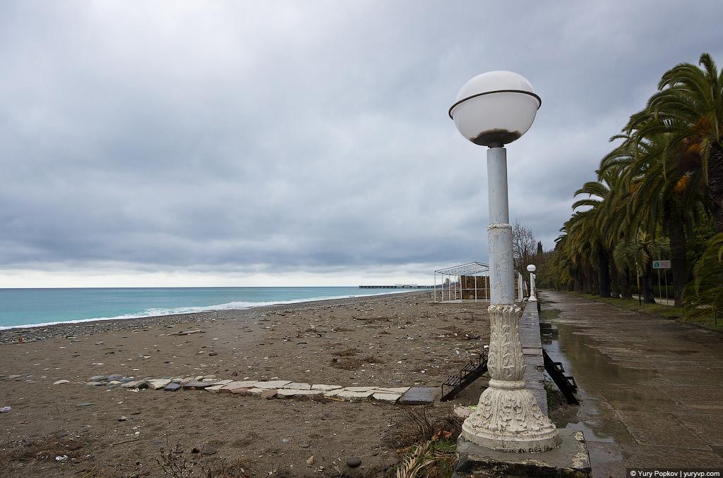 абхазия гагры фото города и пляжа