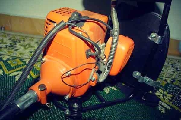 enjin mesin rumput sandang