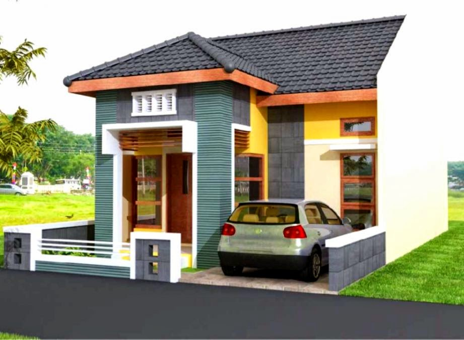 desain tampak depan rumah minimalis 2 lantai