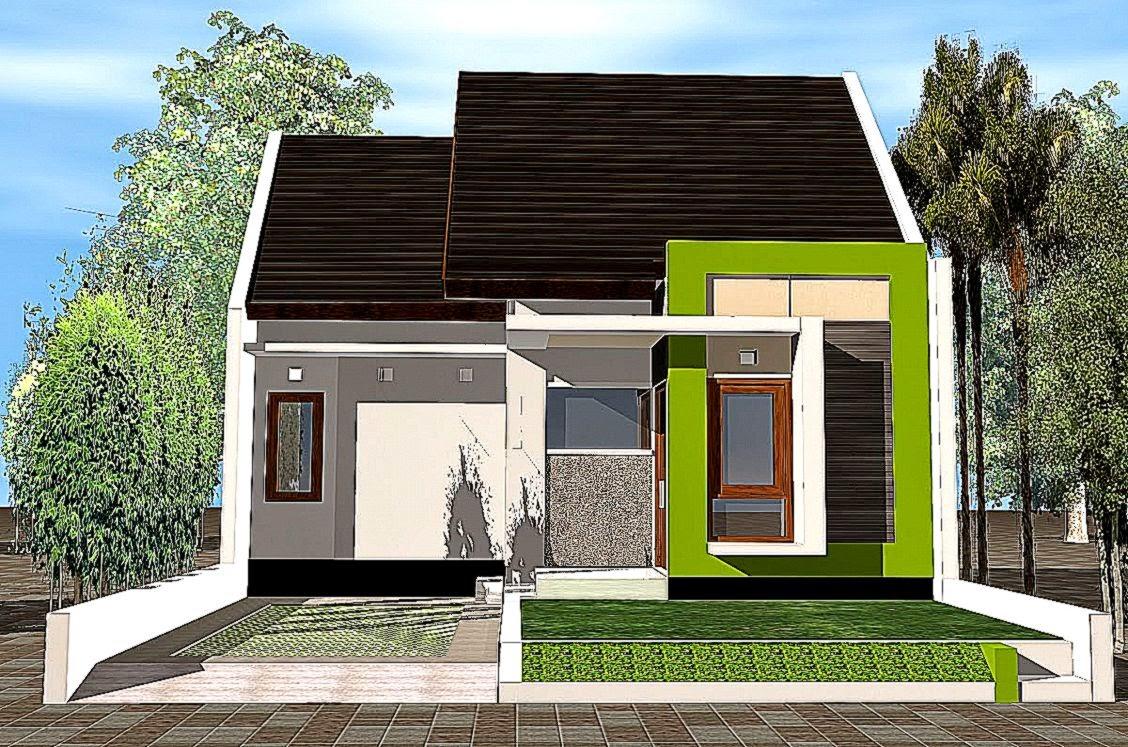 Desain Rumah Sederhana Minimalis Modern Gallery Taman