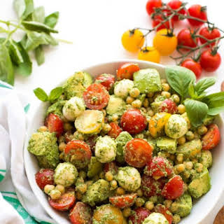 Avocado Chickpea Salad Recipes.