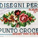 Disegni Per Punto Croce Album IV (Mani di Fata)