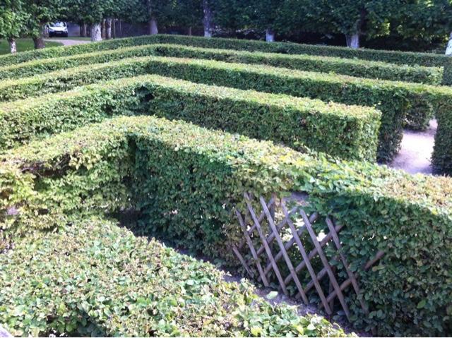 Labyrinthe château Loire