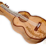 20. kép: Formatorták (lányoknak) - Barna akkusztikus gitár