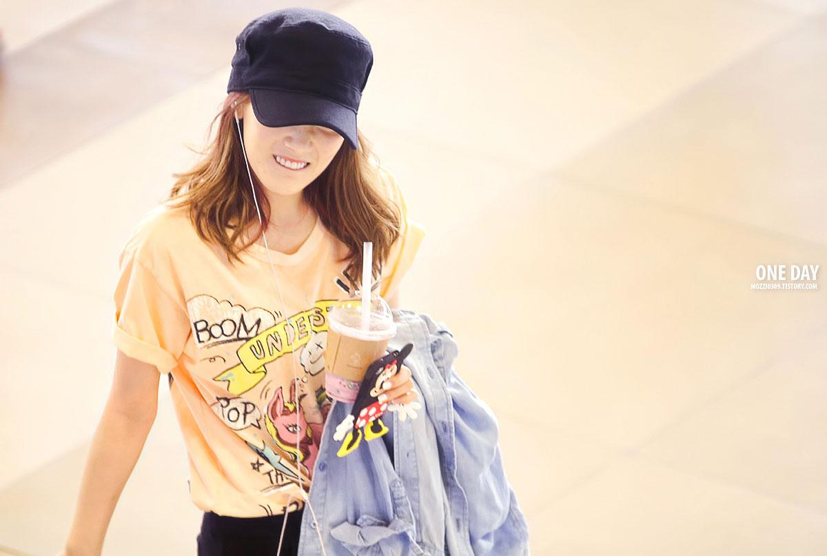 空港120708ミニースマホの少女時代テヨン1200壁紙