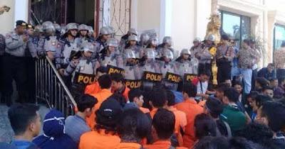 Riau Lampung Dan Sulsel Giliran Mahasiswa Jambi Demo Tuntut Pemerintah Jokowi