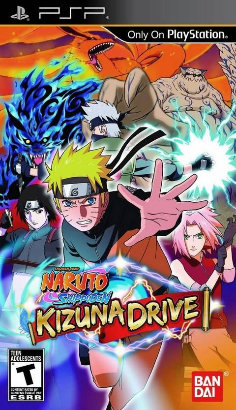 Naruto Shippuden Kizuna Drive (US).iso PSP Download !!
